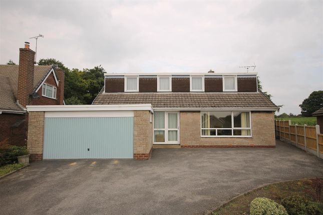 Thumbnail Detached bungalow for sale in Riber Crescent, Old Tupton, Chesterfield