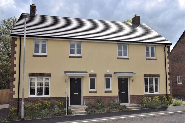 Thumbnail Semi-detached house for sale in 16 Maple Gardens, Govilon, Abergavenny