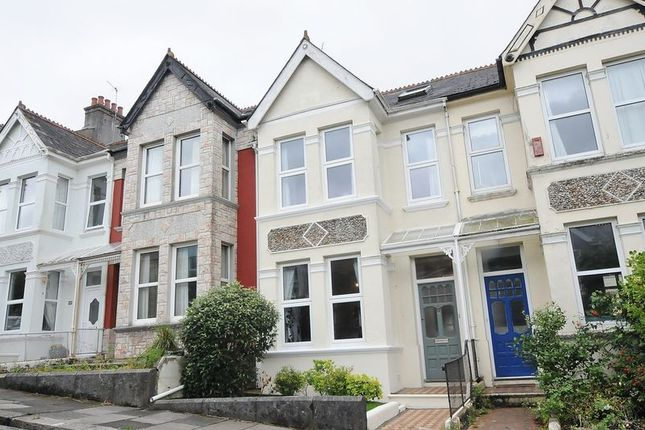 Thumbnail Terraced house for sale in Edgcumbe Park Road, Plymouth