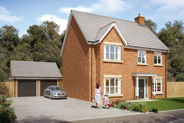 "Thumbnail Detached house for sale in ""The Durham"" at Burton Street, Market Harborough"