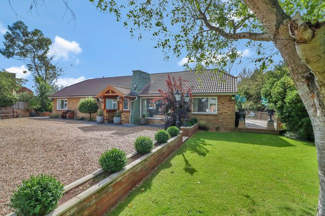 Thumbnail Detached bungalow for sale in Churchway, Stone, Aylesbury