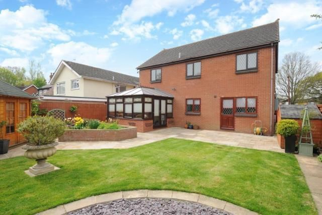 4 bed detached house for sale in Hampton Dene, Hereford