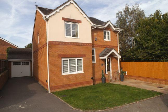 Thumbnail Detached house for sale in Llys Pentre, Broadlands, Bridgend