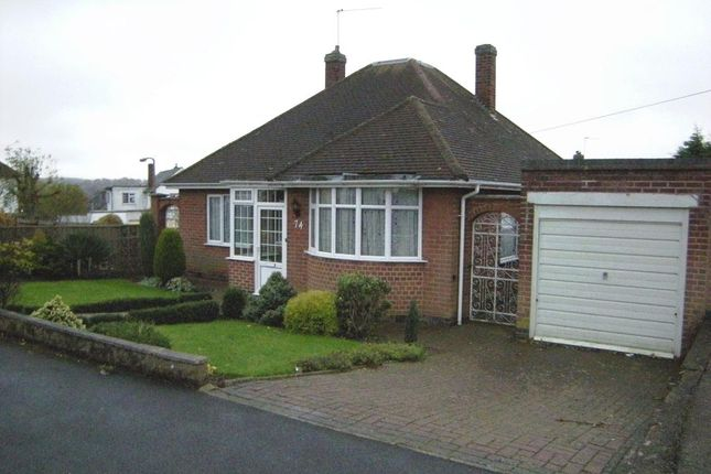 Thumbnail Bungalow for sale in Uplands Road, Oadby