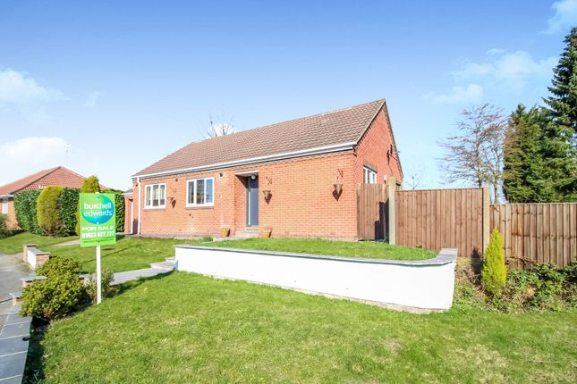 Thumbnail Detached bungalow for sale in Kings Lodge Drive, Mansfield