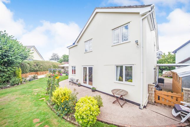 Thumbnail Detached house for sale in Cherry Tree Gardens, Tiverton