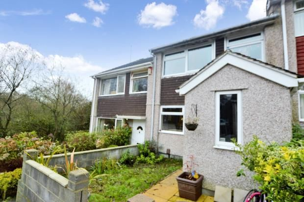 Thumbnail Semi-detached house for sale in Greenfield Road, Saltash, Cornwall