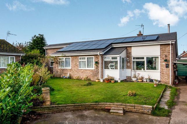 Thumbnail Detached bungalow for sale in Shadwell Close, Weeting, Brandon