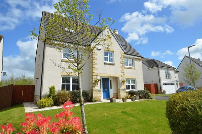 Thumbnail Detached house for sale in East Nerston Grove, Nerston Village, East Kilbride