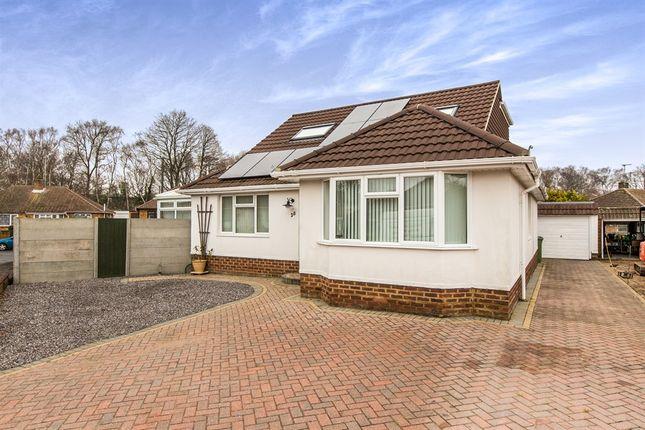 Thumbnail Detached bungalow for sale in Woodvale, Fareham