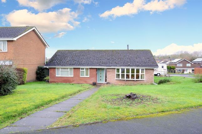 Thumbnail Detached bungalow for sale in Stokesay Way, Sutton Heights, Telford, Shropshire.