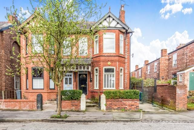 Thumbnail Semi-detached house for sale in Claude Road, Chorlton, Manchester, Greater Manchester