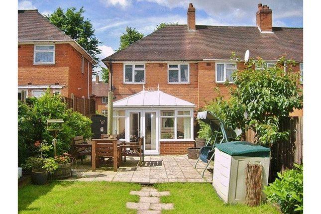 Thumbnail End terrace house to rent in Elderfield Road, Birmingham