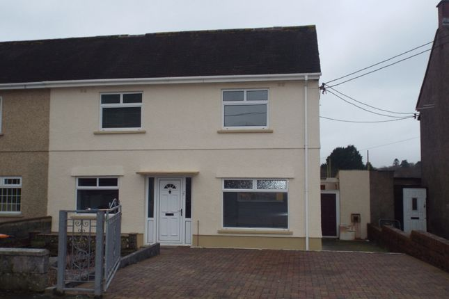 3 bed semi-detached house for sale in Caeglas, Cross Hands, Llanelli