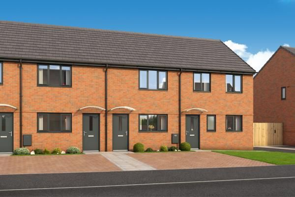 "Thumbnail Property for sale in ""The Lockton At Roman Fields "" at Chamberlain Way, Peterborough"