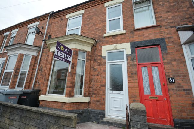 Thumbnail Terraced house to rent in Derrington Avenue, Crewe