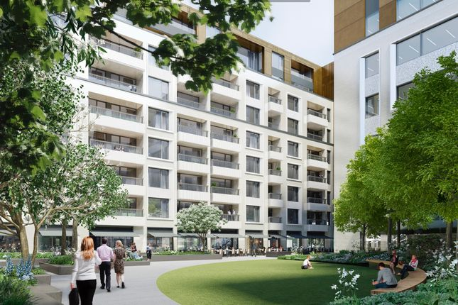 Thumbnail Flat for sale in Rathbone Square, Fitzrovia, London