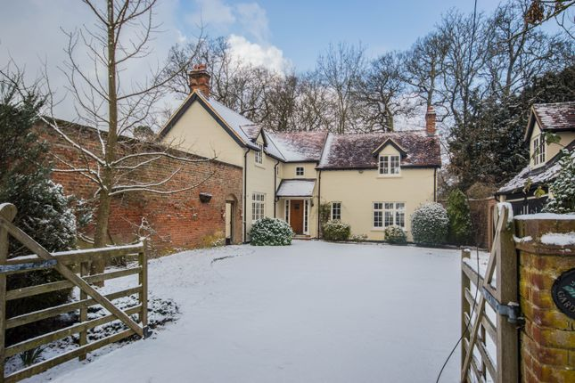 Thumbnail Detached house to rent in Woolmers Park, Hertford