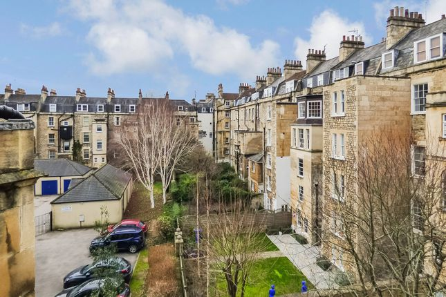 Rear View of Darlington Street, Central Bath BA2