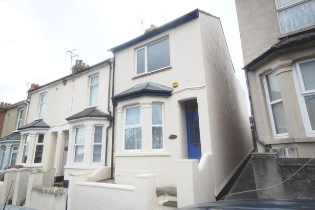 Thumbnail End terrace house to rent in Beaconsfield Road, Chatham
