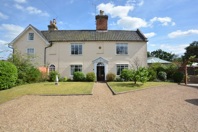 Thumbnail Semi-detached house for sale in Church Street, Wangford, Beccles