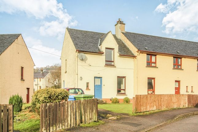 Thumbnail End terrace house for sale in Drumfada Terrace, Corpach, Fort William, Inverness-Shire