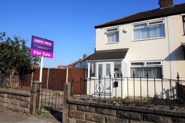 Thumbnail Semi-detached house for sale in Rathbone Road, Liverpool