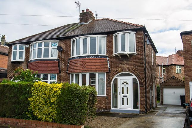 Thumbnail Semi-detached house to rent in Nunthorpe Crescent, Bishopthorpe Road, York