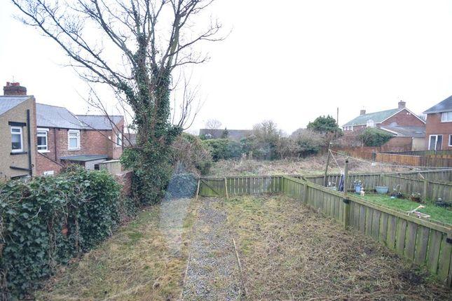 Rear Garden of Alisha Vale, Easington Colliery, County Durham SR8