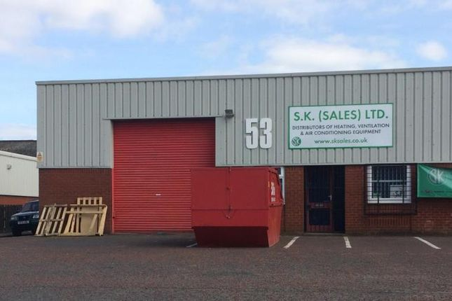 Industrial to let in Unit 53 Westbrook Park, Westbrook Road, Trafford Park, Manchester