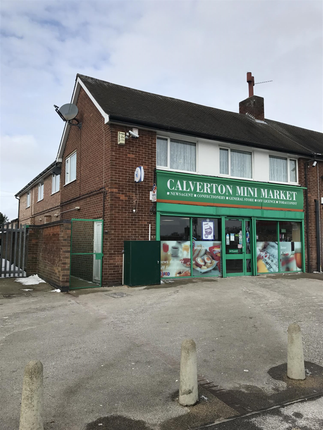 Thumbnail Retail premises for sale in Flatts Lane, Calverton, Nottingham