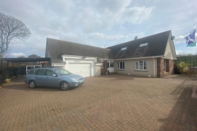 Thumbnail Detached bungalow for sale in Marywell, Arbroath