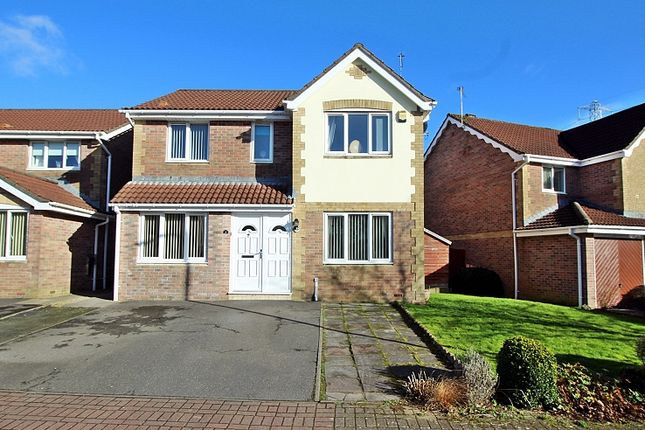 Thumbnail Detached house for sale in Pant Y Dderwen, Pontyclun, Rhondda, Cynon, Taff.