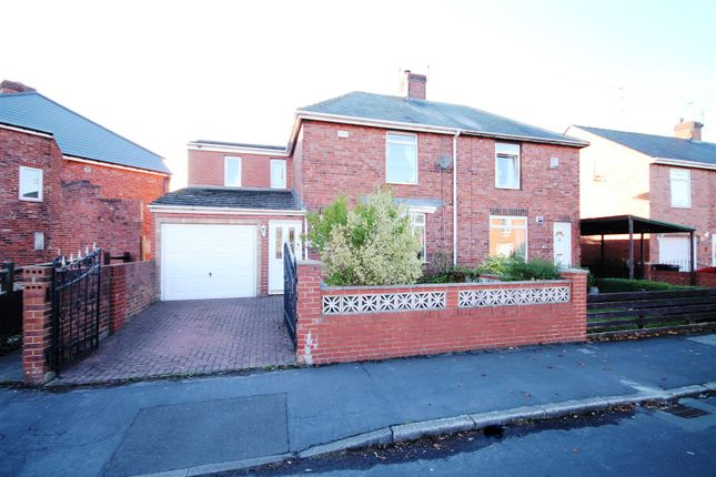 Thumbnail Semi-detached house for sale in Frank Street, Gilesgate, Durham
