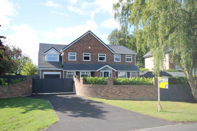 Thumbnail Detached house for sale in Edge Hill, Darras Hall, Newcastle Upon Tyne, Northumberland