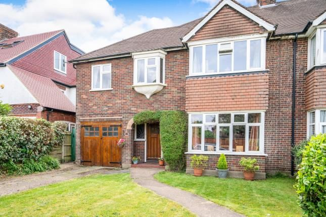 Thumbnail Semi-detached house for sale in Hinchley Wood, Surrey