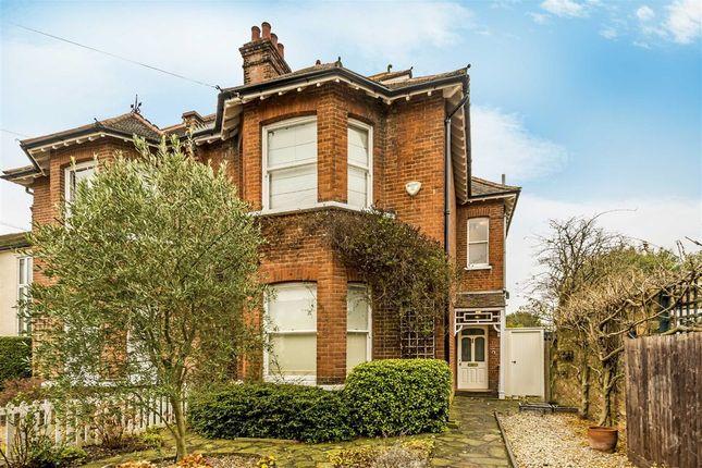 Thumbnail Semi-detached house for sale in Seymour Road, Hampton Hill, Hampton