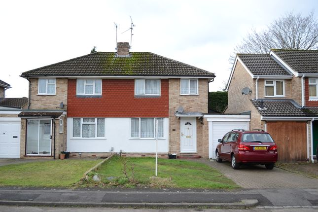 3 bed semi-detached house for sale in Quentin Road, Woodley, Reading