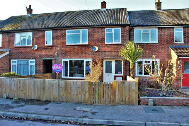 Thumbnail Terraced house for sale in Cranmore Road, Mytchett