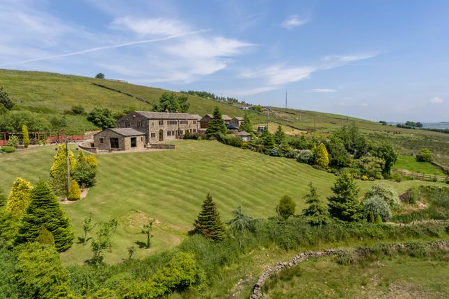 Thumbnail Barn conversion for sale in Mean Hey, Old Ground Cop Hill, Slaithwaite, Huddersfield