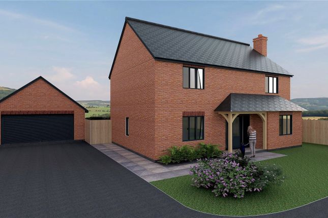 Thumbnail Detached house for sale in Dolfach, Llanbrynmair, Powys