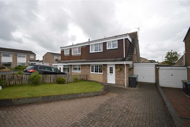 Thumbnail Semi-detached house for sale in Trefoil Road, Tanfield Lea, Stanley