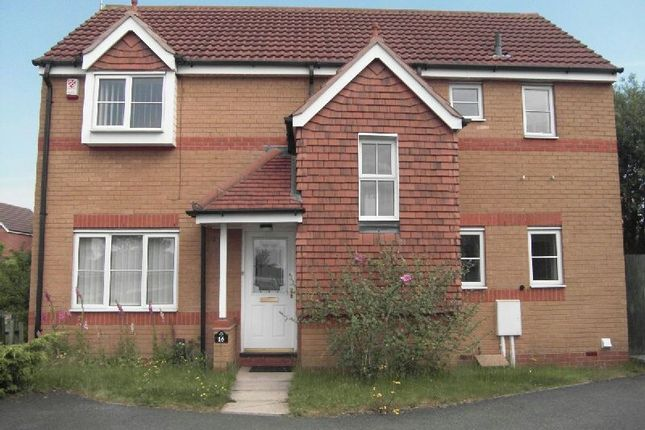 Thumbnail Detached house to rent in Smart Close, Thorpe Astley, Braunstone, Leicester