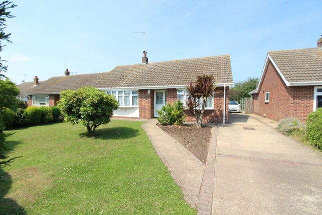 Thumbnail Detached bungalow for sale in Beach Road, Scratby