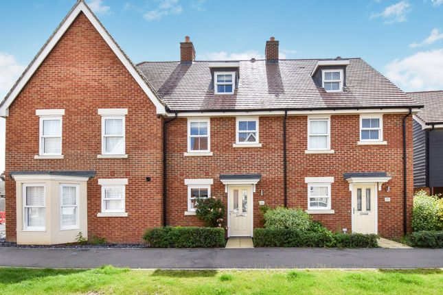 Thumbnail Terraced house for sale in Walker Mead, Biggleswade