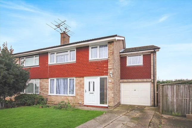 Thumbnail Semi-detached house for sale in Castle Road, Worthing