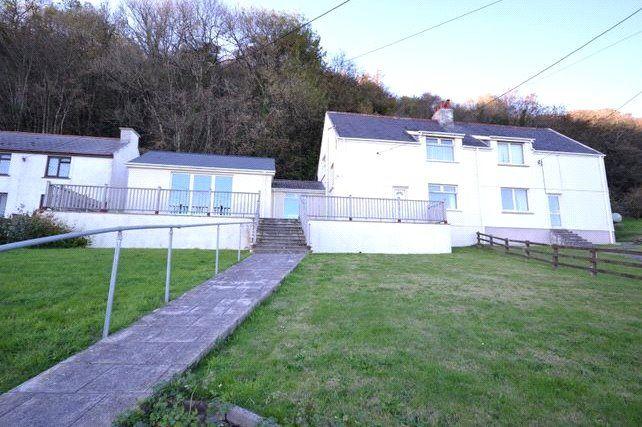 Thumbnail Semi-detached house for sale in Llanmiloe Bach, Llanmiloe, Carmarthen