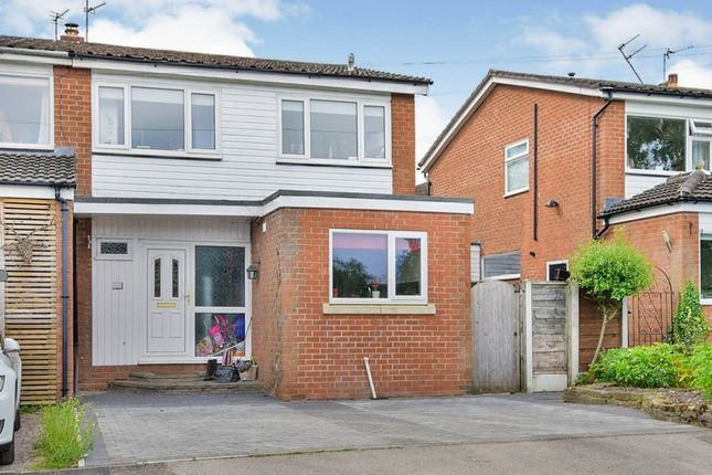 Thumbnail Semi-detached house for sale in Springfield Drive, Wilmslow
