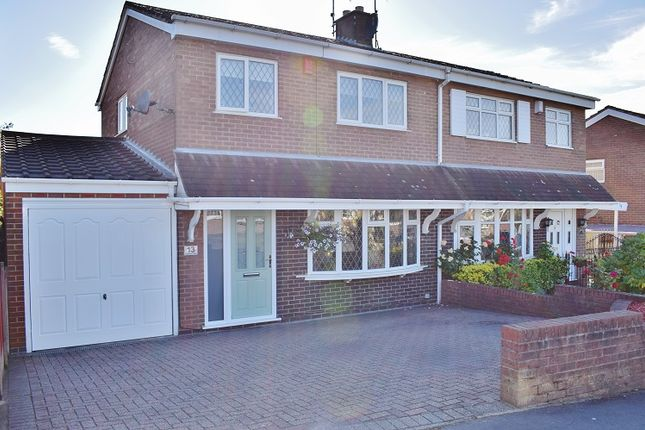 Thumbnail Semi-detached house for sale in Carberry Way, Parkhall, Stoke On Trent