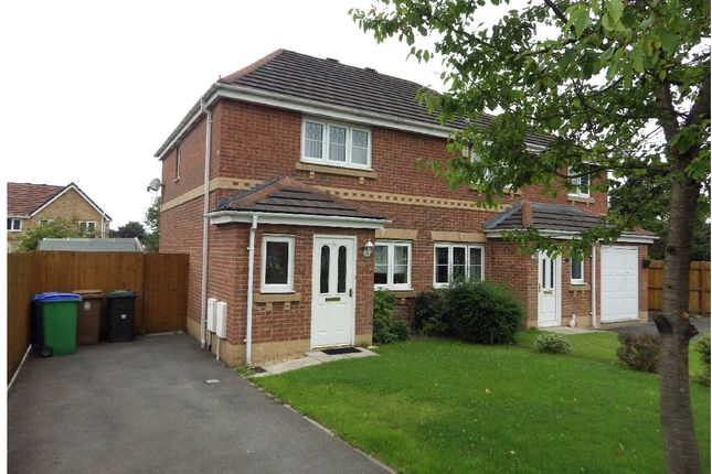 Thumbnail Semi-detached house for sale in Crossbrook Way, Milnrow, Rochdale, Greater Manchester